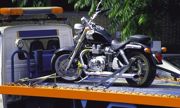 Эвакуация мотоцикла